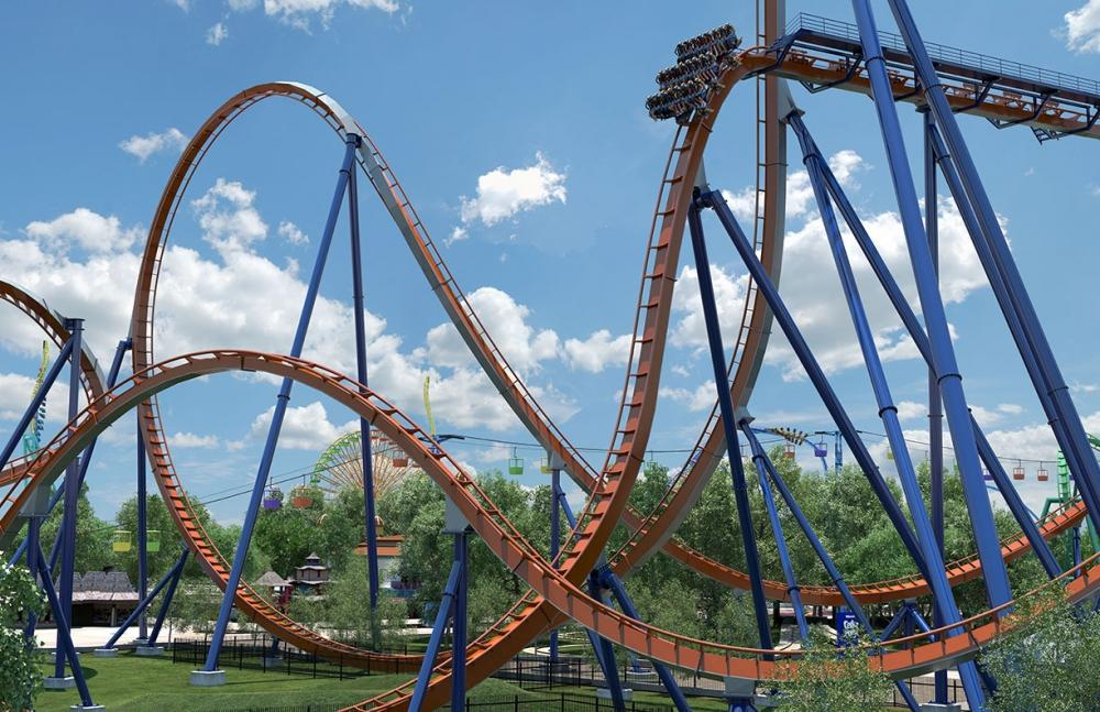 Valravn will be 223 ft (68 m) tall