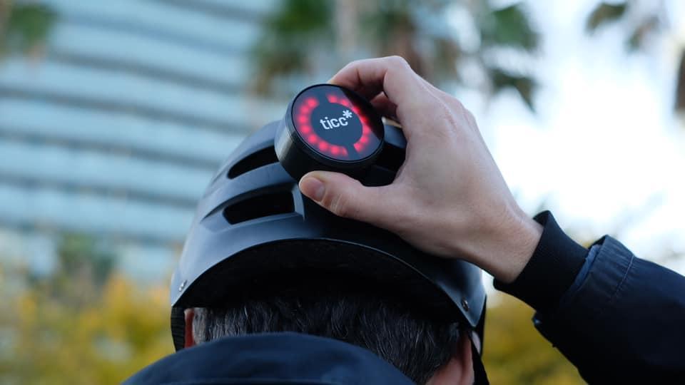 ticc mounts onto helmets via a neodymium magnet