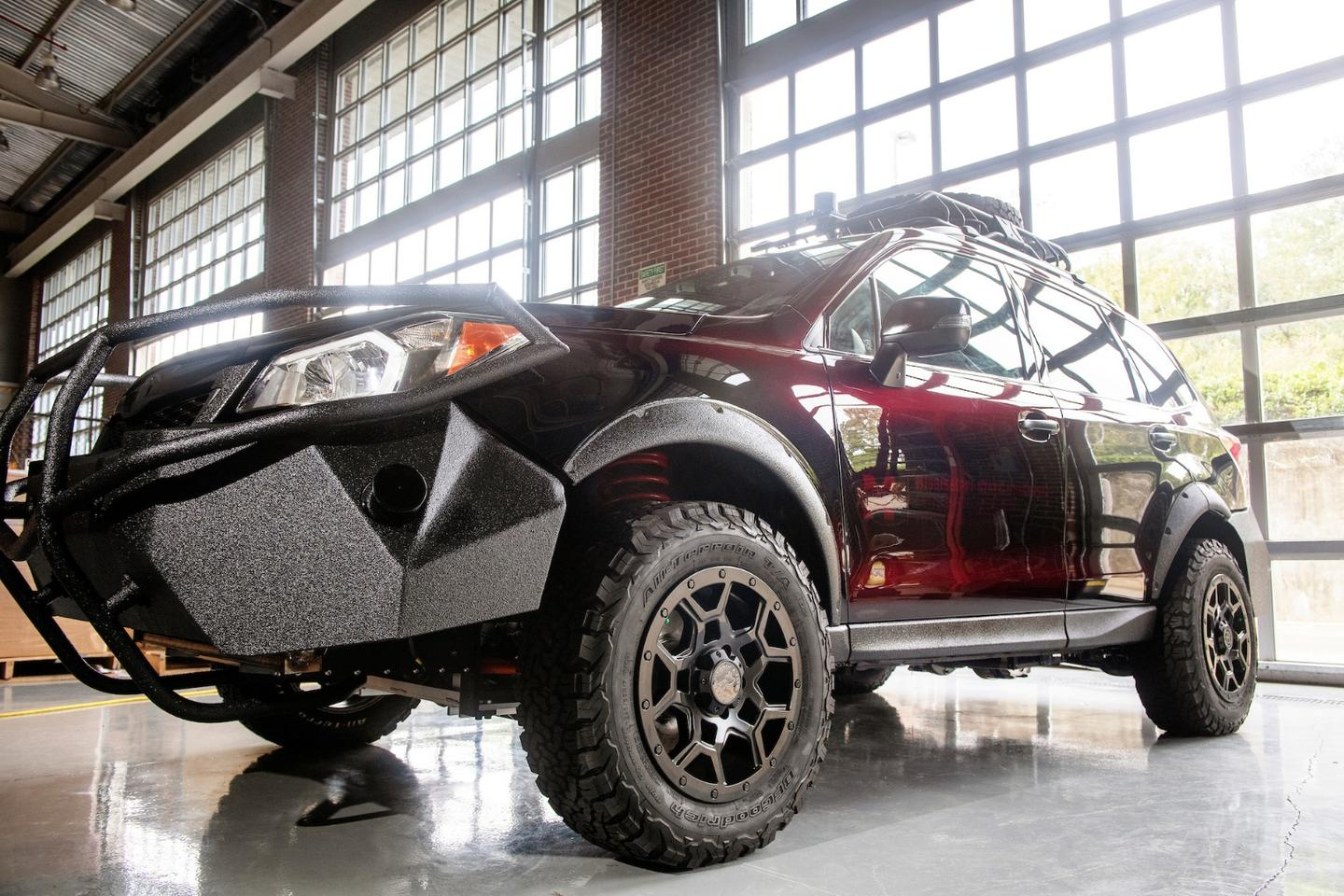 The Mississippi State CAVS team showed the all-electric, autonomous Halo Project off-roader at the recent SEMA Show