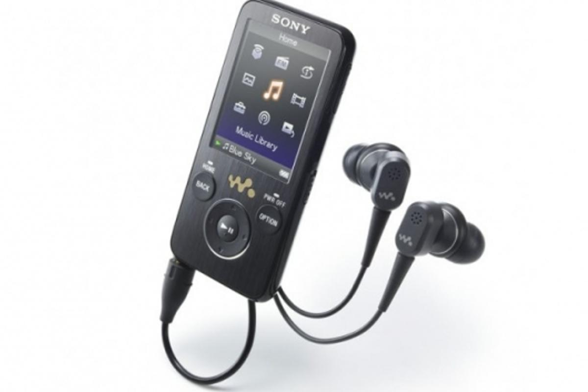 Sony's S series NWZ-S730 Walkman.