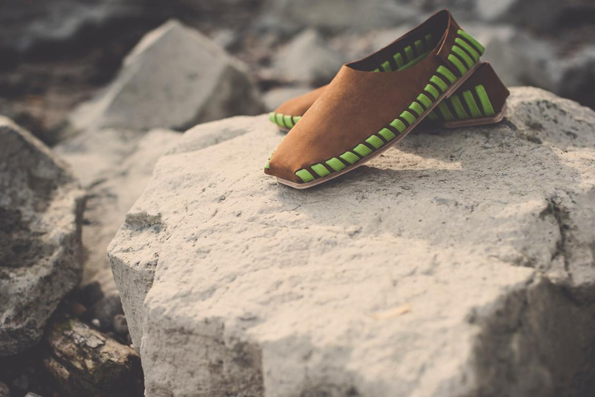 The Pikkpack shoes, by Hungarian designer Sara Guylas (Photo: Pikkpack)