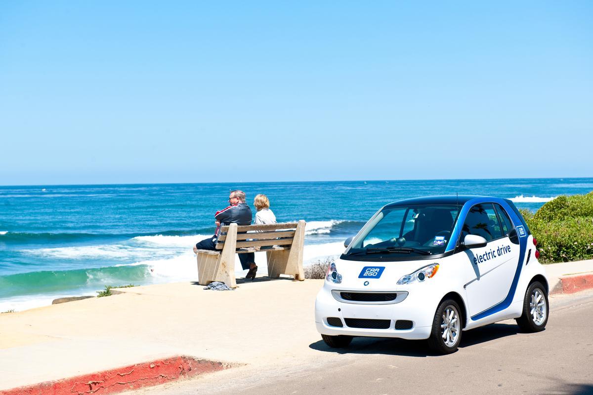 car2go at Pacific Beach, San Diego