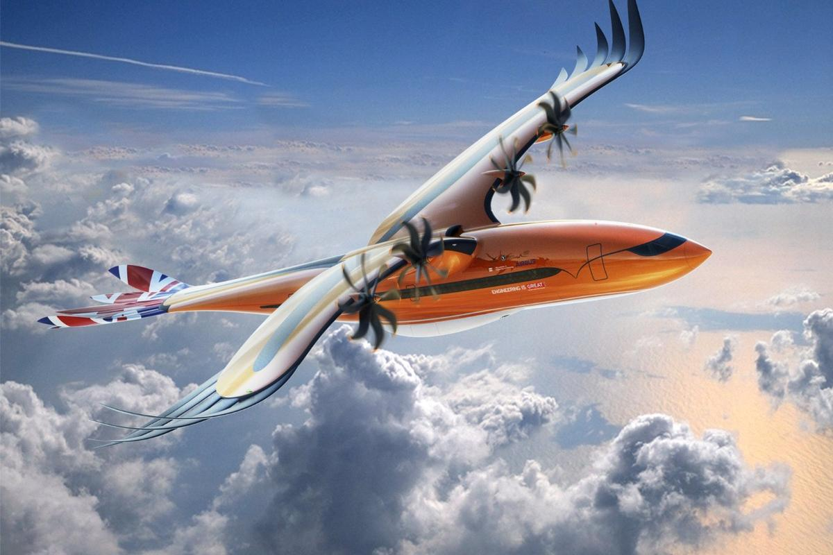 Artist's impression of the Bird of Prey concept