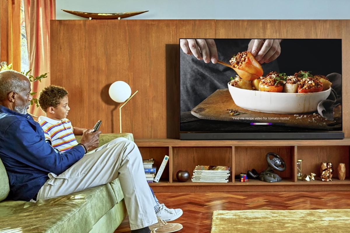 LG's 2019 TVs include on-boardartificial intelligence for optimizing audio and video quality based on ambient conditions