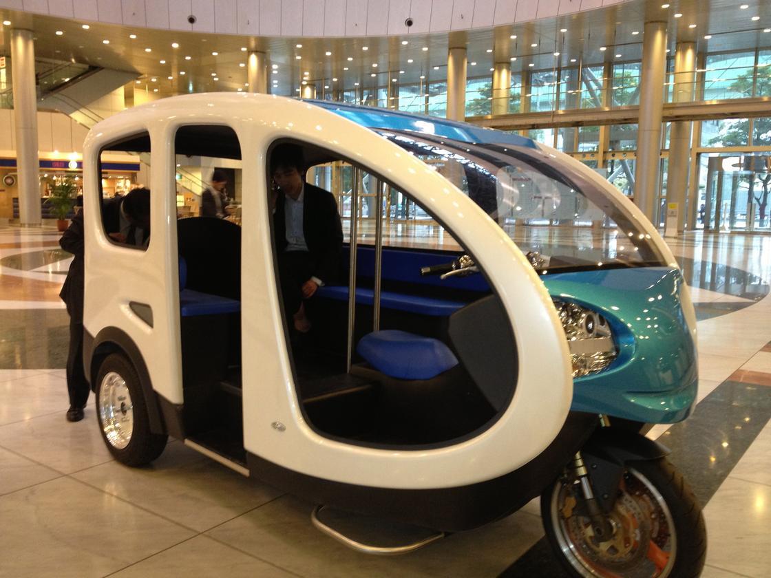 Terra Motors' electric tuk-tuk aimed at markets in Southeast Asia