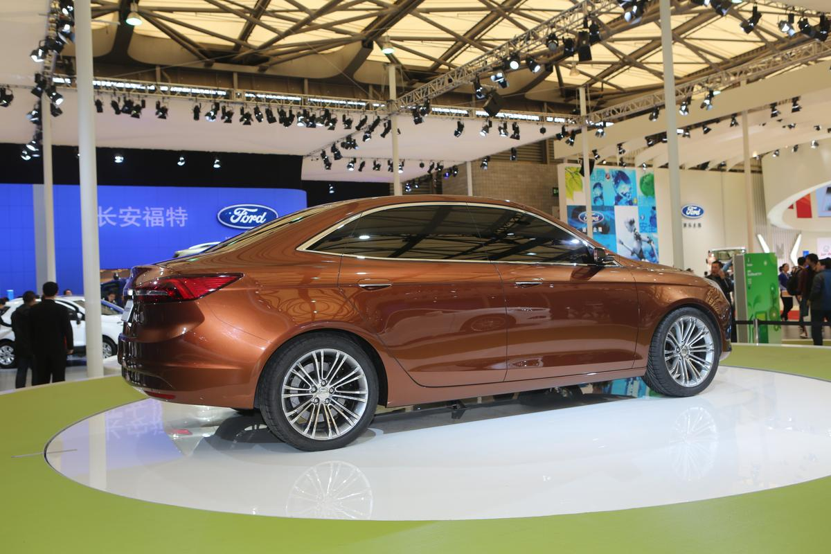Ford's new concept Escort (Photo: Gizmag)