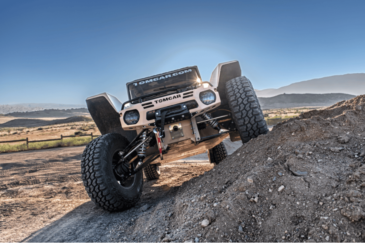 The Tomcar ain't the prettiest of UTVs, but it may be the toughest