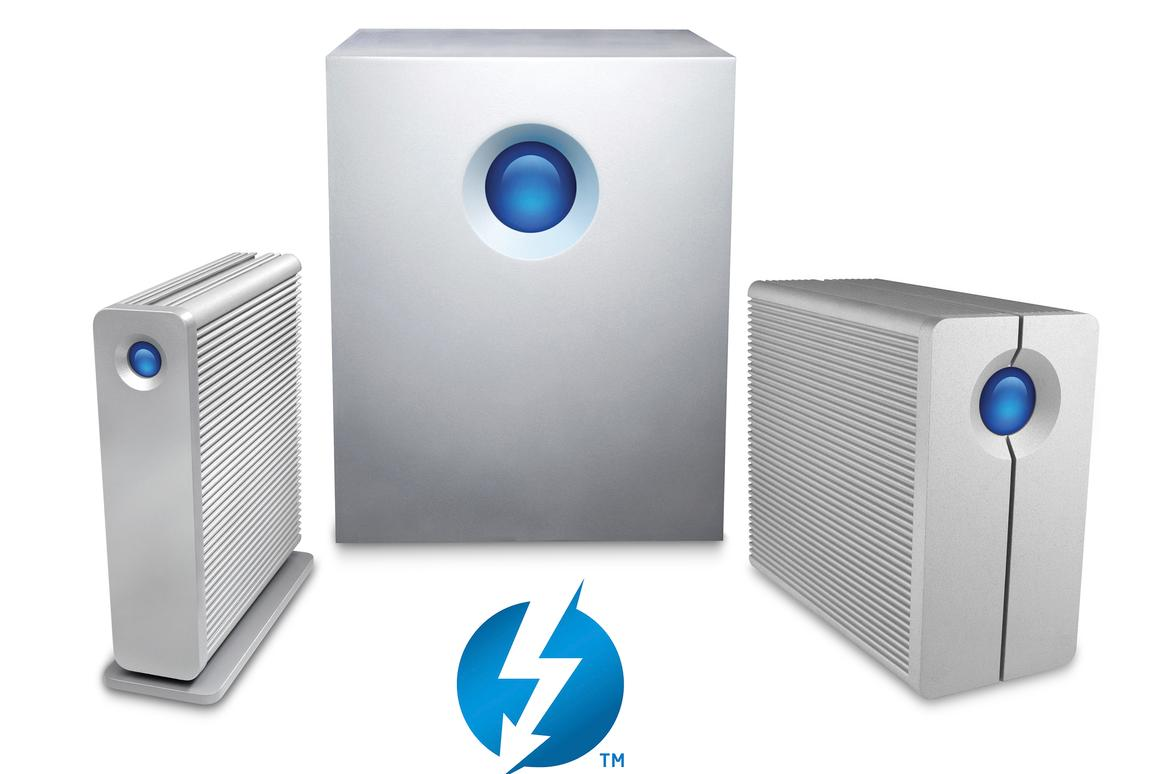 LaCie's 5big Thunderbolt Series, 2big Thunderbolt Series and d2 Thunderbolt Series external HDDs are now available in 5TB, 7200 rpm hard–drive capacities
