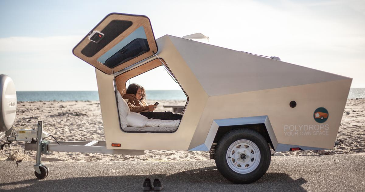 Polydrops finds a new angle in the teardrop camping trailer market