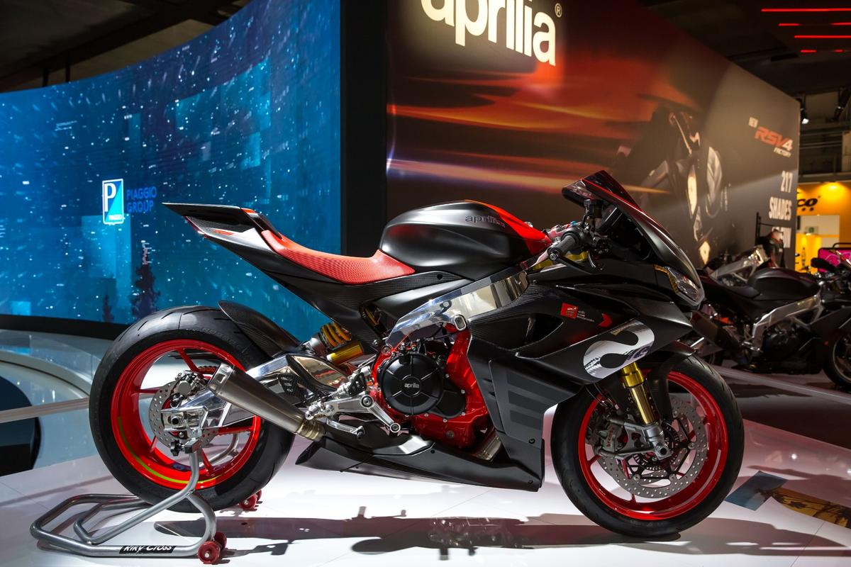 The ApriliaConceptRS660 unveiled at EICMA isquite a looker