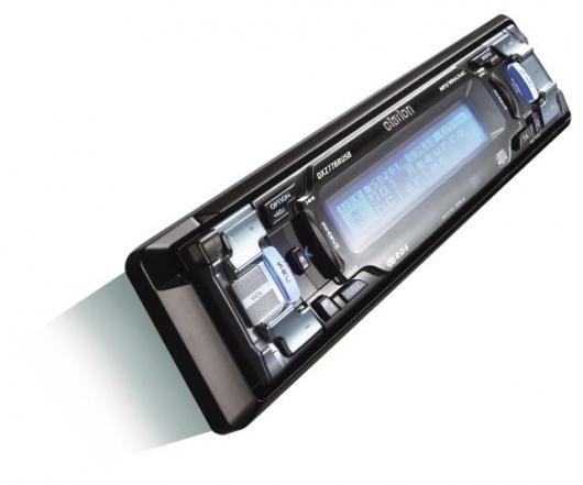 Clarion's DXZ778RUSB Car audio receiver with USB