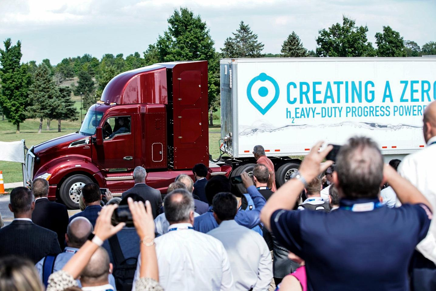 The Beta, or Project Portal 2.0, truck has a similar drivetrain to the original