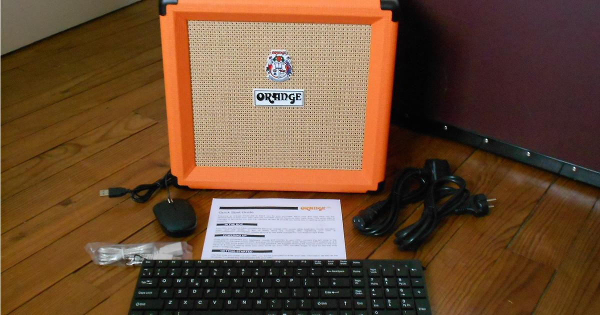 Review: The OPC musician's computer/amp from Orange Amps