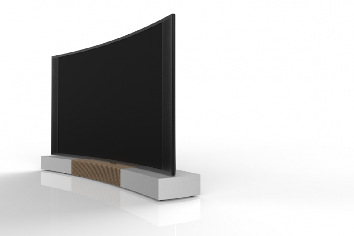 The world's first 110-inch curved UHD TV unveiled by TCL in September – but is curved better than straight?
