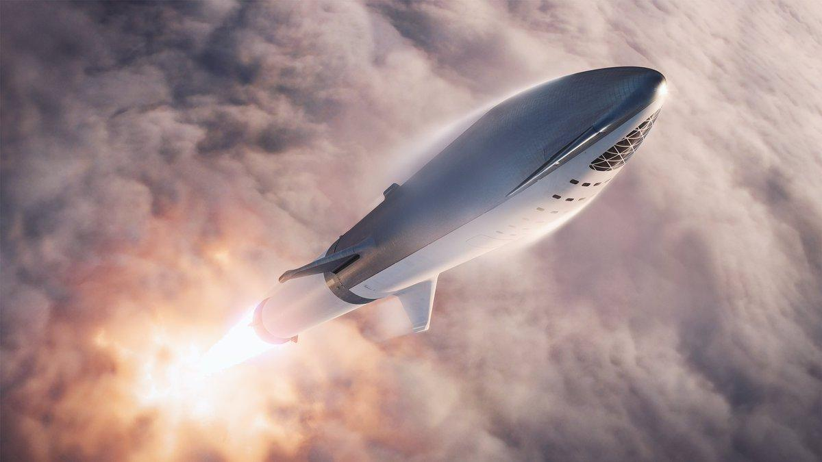 SpaceX's BFR would have the capacity to be refueled in space