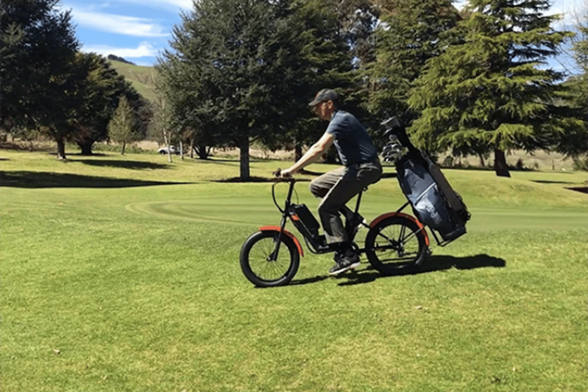The Golfer e-bike is currently the subject of a crowdfunding campaign on Indiegogo