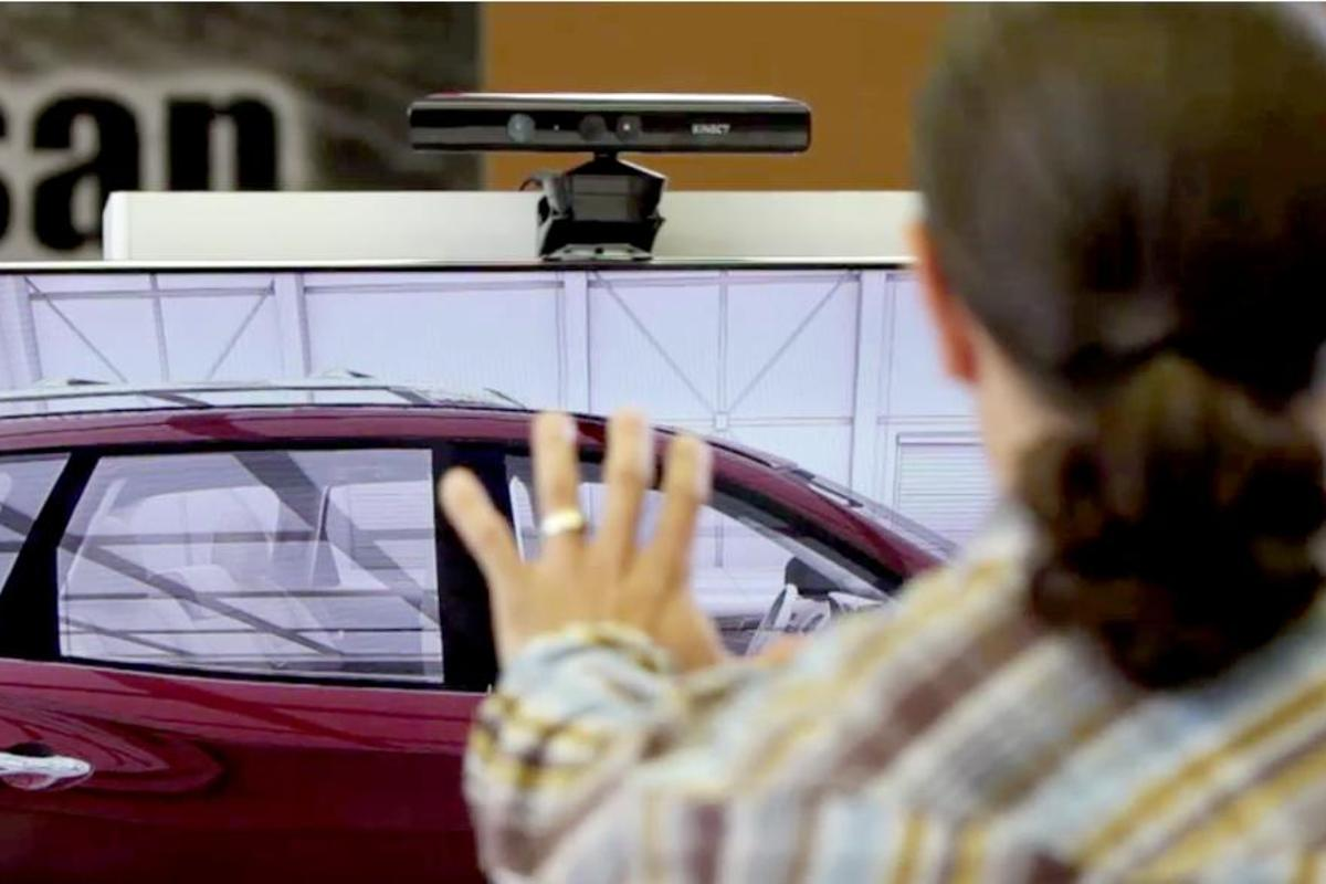 Nissan may expand the Kinect program to more dealerships and the Internet at large