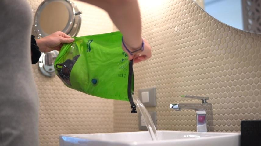 The Scrubba Mini is made to wash socks and jocks on the run
