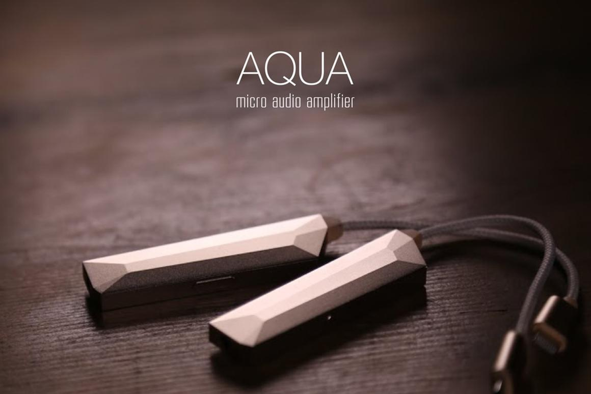 The Aqua DAC/AMP is conveniently slim and portable