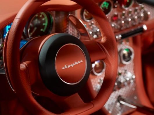 The distinctive Spyder by Spyker Cars