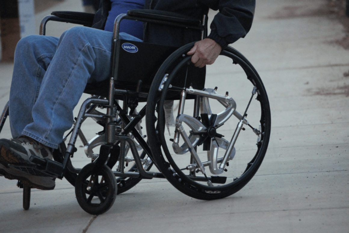 Wheelchair users would likely experience more ride comfort, as well as a vastly superior ability to negotiate uneven ground riding on Air Suspension Wheels