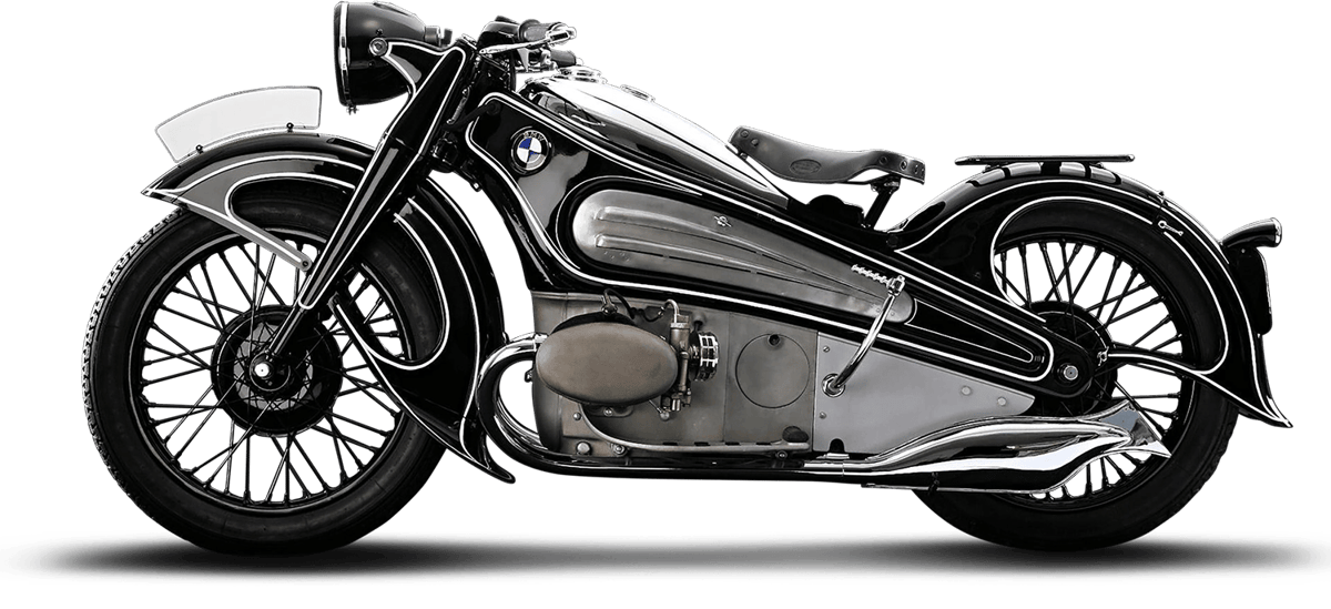 The original: BMW's R7 prototype from 1934, restored between 2005-2007 by BMW