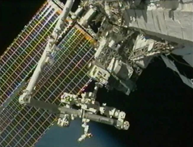 RRM operations begin again on the International Space Station (Image: NASA)