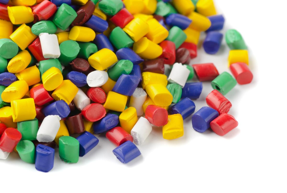 Berkeley Lab researchers have developed a new type of plastic (not pictured) that can be broken down to its molecular components and recycled