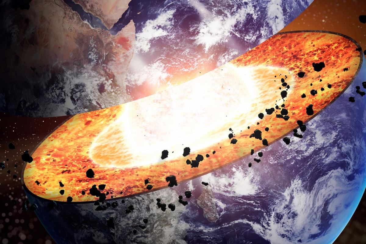 A new theory may explain why the inner core of the Earth remains solid iron, despite the extreme temperatures