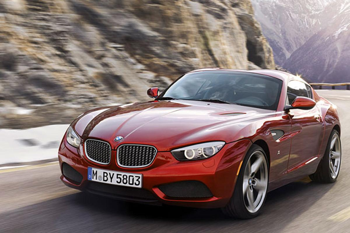 The BMW Zagato Coupe is a brand new, one-off, handmade collaboration between BMW and Milan's Zagato workshop