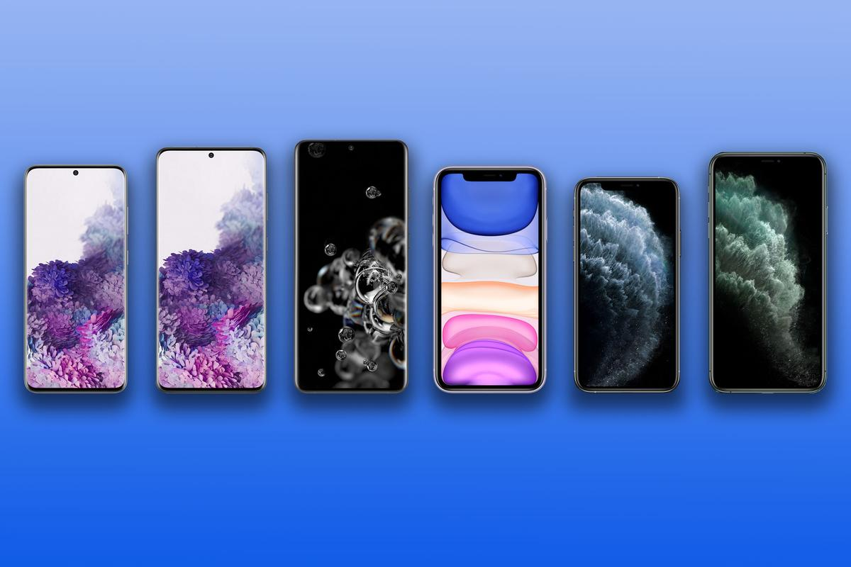 New Atlas compares the specs and features of the Samsung Galaxy S20, S20+ and S20 Ultra to the iPhone 11, 11 Pro and 11 Pro Max