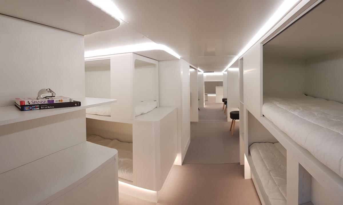 Airbus and Zodiac are developing a modular system that by 2020 will allow surplus cargo bays to be turned into sleeping accommodations