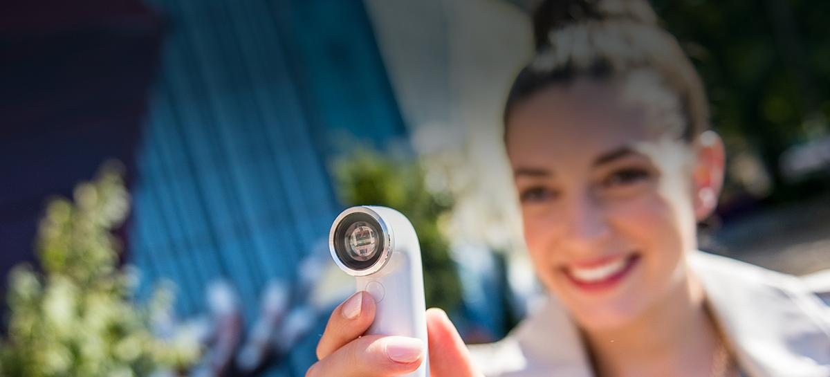 HTC's pipe-like RE actioncam