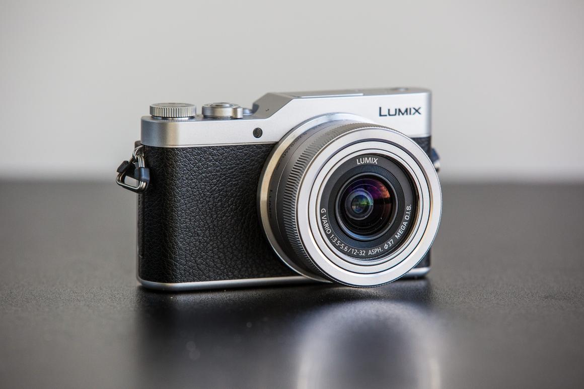 The Lumix DMC-GX850 is a lean, mean selfie-machine