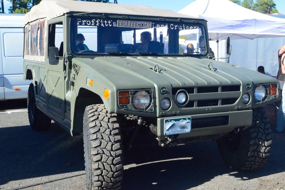 In photos: Big rigs, 4x4 retromods and other earth-eaters of