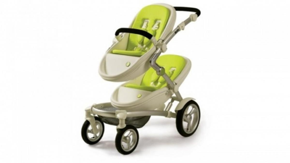 Mima's Kobi is an award-winning stroller that converts easily from a carrycot to a toddler seat and can accommodate two children