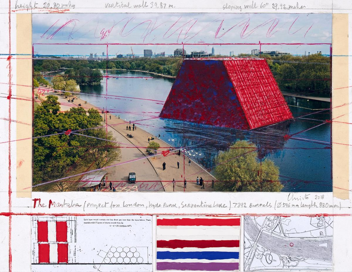 Construction on the London Mastaba began on April 3