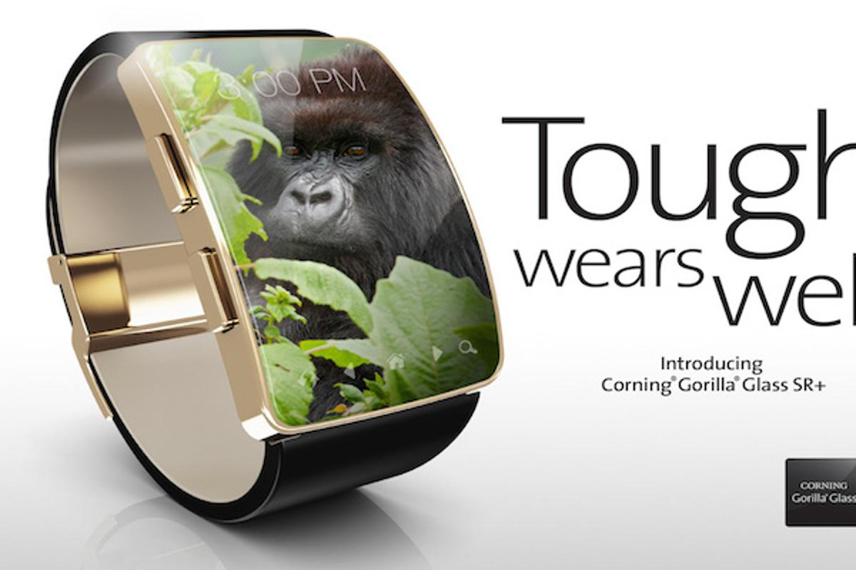 Corning has unveiled Gorilla Glass SR+, specifically built for wearable devices