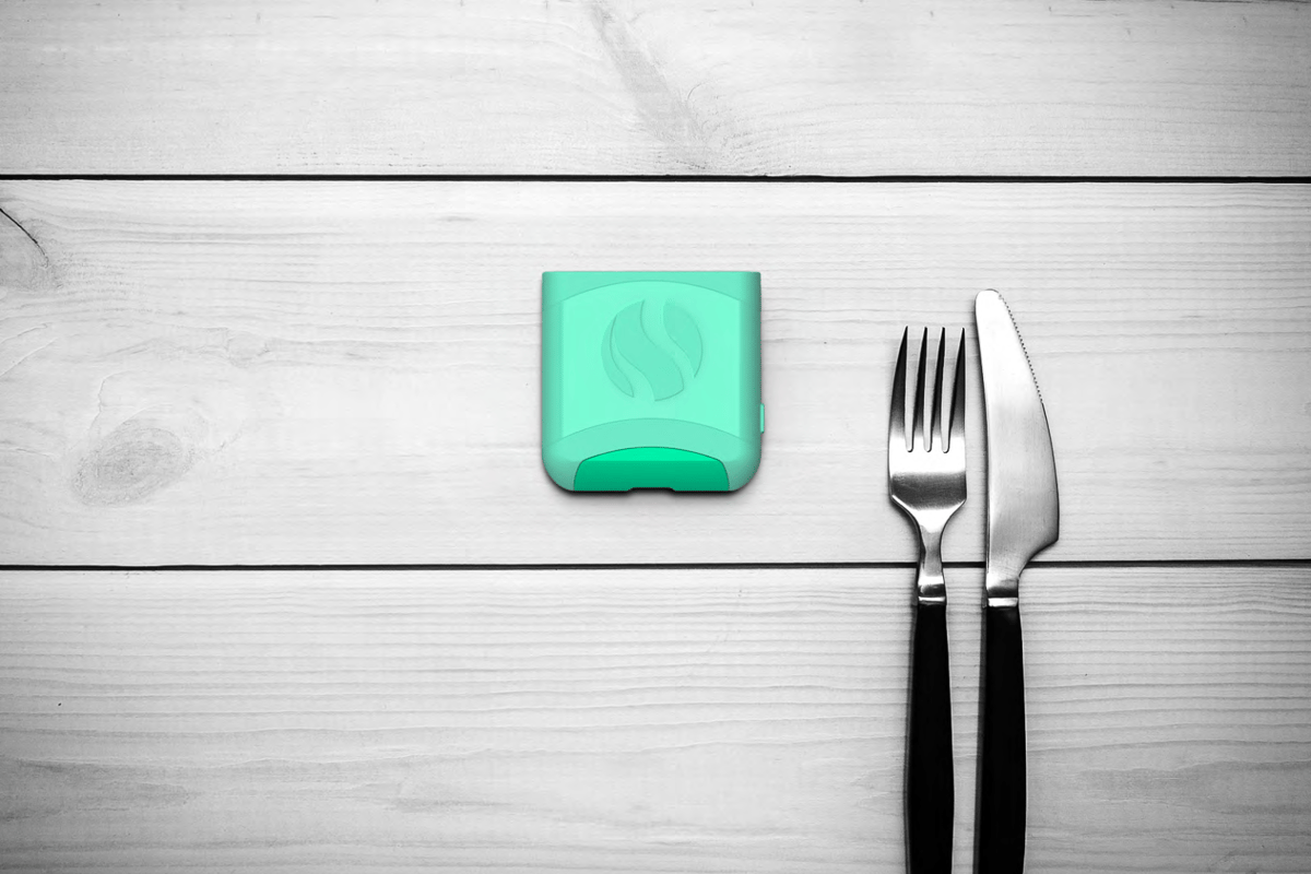 Aire is a hand-held device that figures out which foods disagree with your specific gut, and helps you plan a diet that avoids them