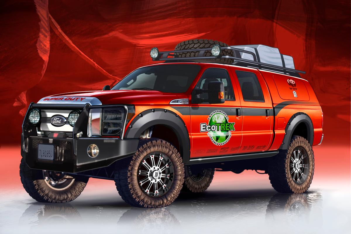 EcoTrek adds serious mileage to the Ford F-350