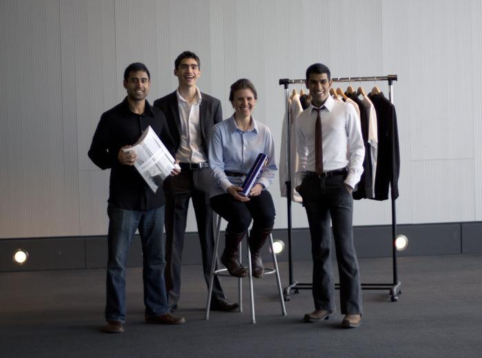 Ministry of Supply team - Aman Advani, Kit Hickey, Kevin Rustagi and Gihan Amarasiriwardena