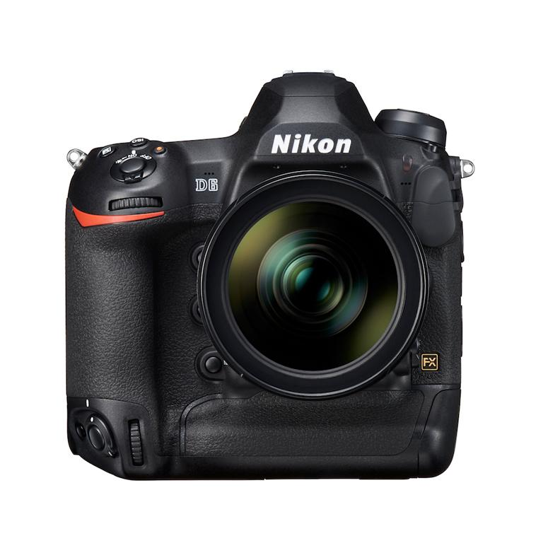 An early look at the forthcoming Nikon D6 DSLR