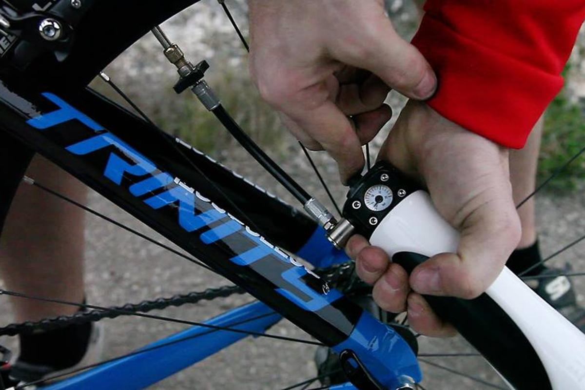 Bimp Air can reportedly fill a bicycle tirein less than 10 seconds