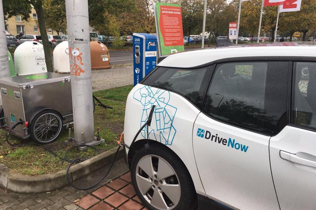 Chargery is currently testing its mobile EV charging service with DriveNow