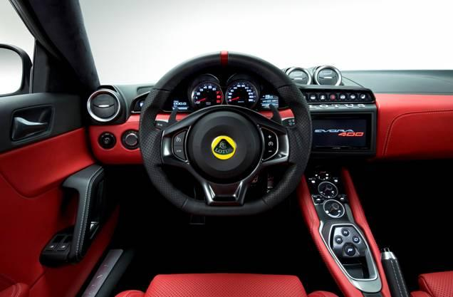 The office of the Lotus Evora 400