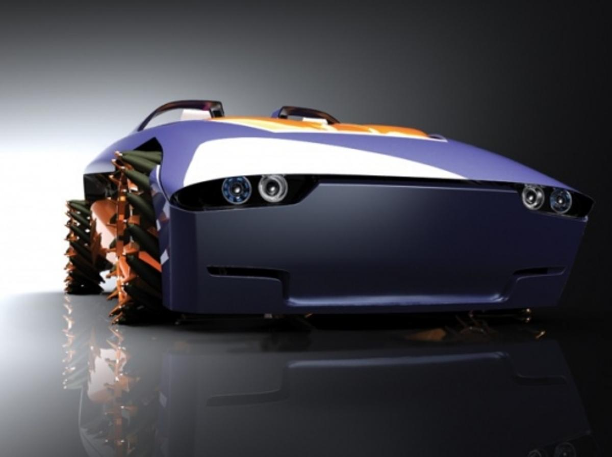 The Phoenix concept car was a stunning entrant in the 2009 Michelin Challenge Design