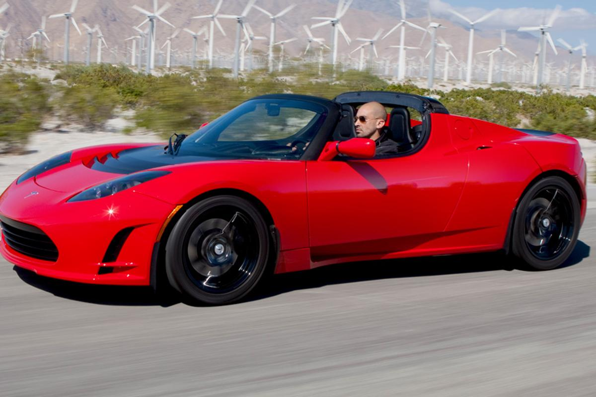 Just how environmentally friendly are electric vehicles like the Tesla Roadster?