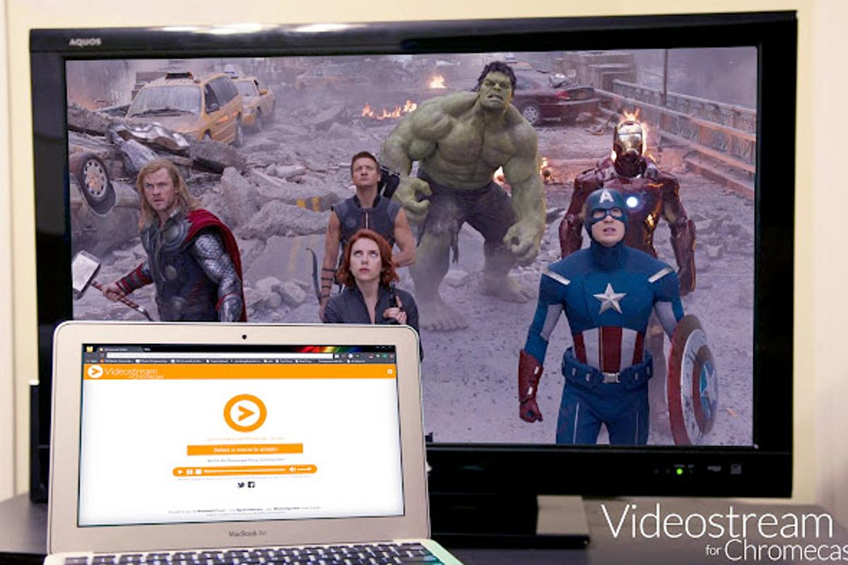 Videostream for Chromecast makes it easy to send your local videos to the big screen