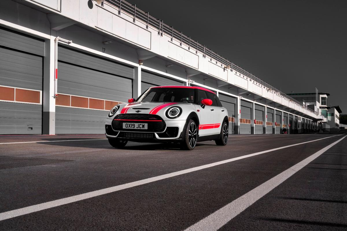 The 2020 John Cooper Works Mini Clubman (pictured) and Countryman are the most powerful Minis ever