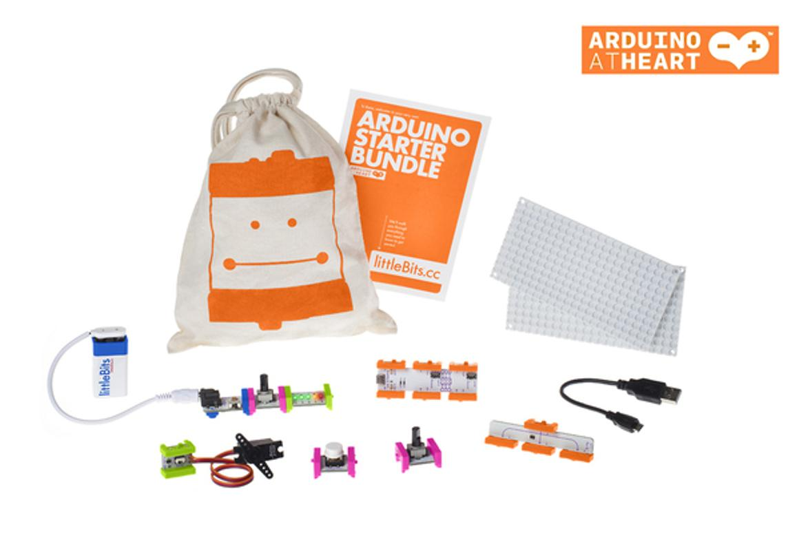 The LittleBits Arduino Bundle